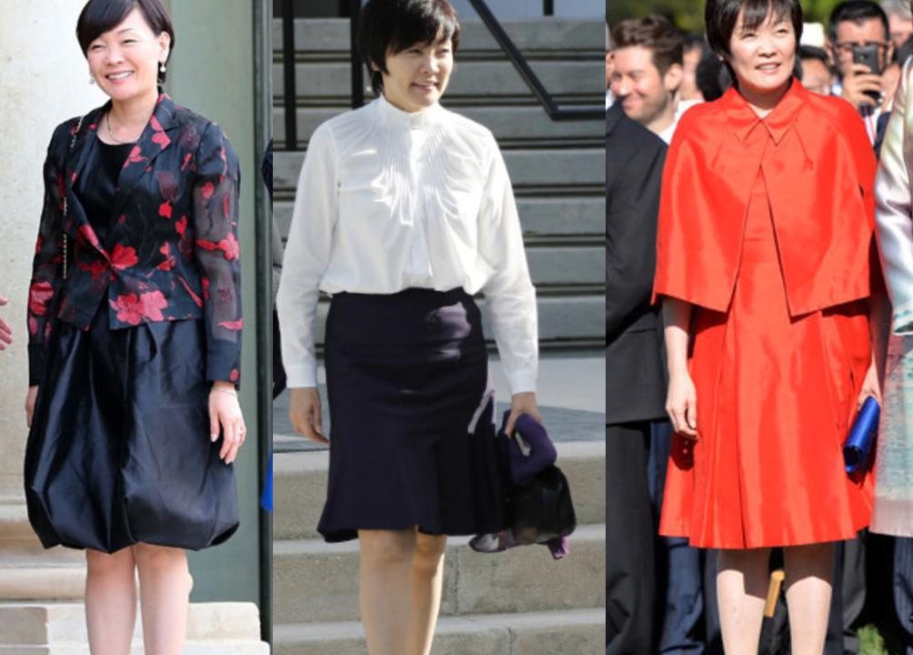 画像】昭恵夫人のファッションがダサい!生足披露の写真が色々